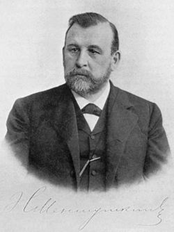 Figura 1. Nikolai Aleksandrovich Menshutkin.