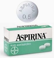 Figura 1. L'aspirina de Bayer de tota la vida.