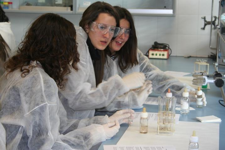 Una foto dels matins de la Química celebrats el 20 de gener del 2010