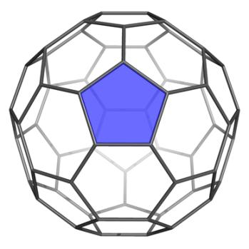 Figura 1. La molècula de C60.