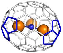 Figura 2. El metal·laful·lerè endoèdric Y3N@(22010)C2-C78.