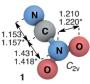 Figura 1. L'estructura del compost NCNO2.